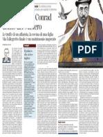 Nei Labirinti Di Conrad Uomo Del Mistero, Di Pietro Citati - Il Corriere Della Sera 10.06.2013