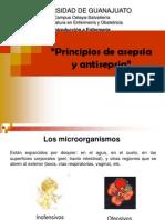 Principios de Asepsia y Antisepsia
