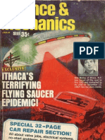 ITHACA'S TERRIFYING FLYING SAUCER EPIDEMIC!  By Lloyd Mallan