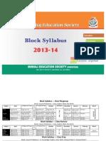 Block Syllabus (Eng) 2013-14 - Minhaj Education Society