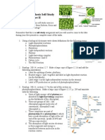 A2 Photosynthesis Homework Study