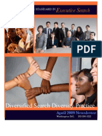 Diversified Search Diversity Practice Newsletter