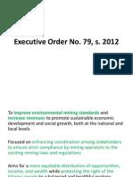 Executive Order No 79