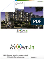 UKN Belvista,Near Forum Value Mall,Whitefield,Bangalore East. WeOwn.in gives exclusive discounts to its user groups.