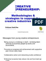 Creative Entrepreneurship D Rae