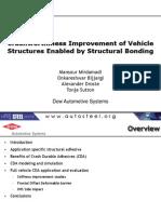 23 - Mansour Mirdamadi - Crashworthiness Improvement of Vehicle Structures