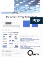07 Pv Solar Array Simulator