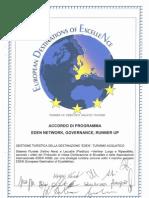 Eden 2010 Aquatic Tourism Governance Agreement