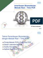 Presentasi Real Time PCR Dasar&Teknis LC Nano