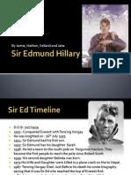 Sir Edmund Hillary Nathan