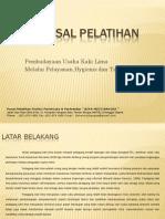Proposal Pelatihan Pedagang Kaki Lima