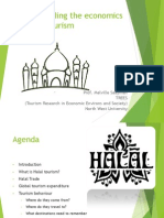 Understanding the Economics of Halal Tourism