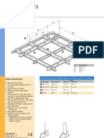 Acoustical Ceiling USG DX24mm Grid Brochure