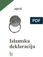 Islamska deklaracija - Alija Izetbegović