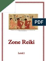 Zone Reiki Level 1