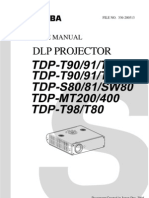 Maintenance Manual TDP-T98