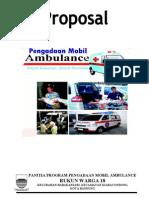Proposal Ambulance 18