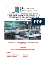 Intelligent System Report of Kajang area.