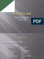 Case Atresia Ani