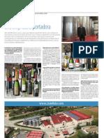 Entrevista de Josep Ventosa, gerent de Castell d'Or a La Vanguardia i Cinco Días