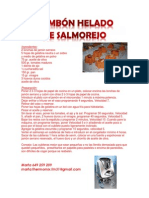 BOMBÓN HELADO DE SALMOREJO
