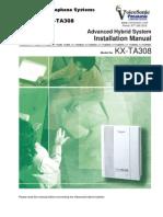 KX TA308 InstalationManual