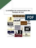 La strategie de Com des Marques de luxe.doc