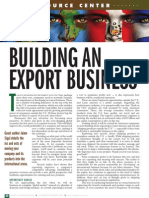 BUILDING AN