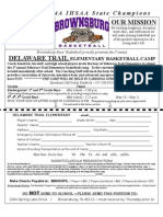 Delaware Trail 08-09 Elementary Basketball Camp
