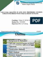 非对称高低塔大跨径预应力混凝土斜拉桥结构行为分析2013_