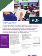 MimioPad Wireless Tablet