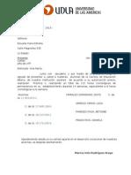 Carta de Presentación UDLA EDU557