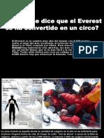 El Everest, Un Circo de Muerte