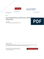 Accounting Theory and Practice- The Ethical Dimension