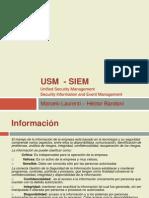 Sistema integrado de administracion de eventos de seguridad