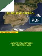TEMA 3 - EL RELIEVE DE ESPAÑA - CARACTERES Y ROQUEDO