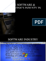The Software & Electronics Industy in India