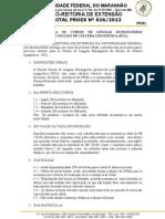 Edital Nº 0262013 NCL