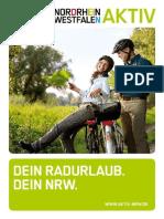 Aktiv Radfahren - NRW Booklet