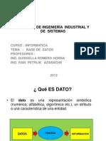 Base de Datos Primera Parte