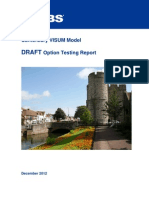 Transport Modelling Options Report (Jacobs 2012-12)
