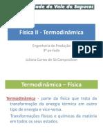 Termodinâmica parte 1 - Temperatura e a teoria cinética dos gases