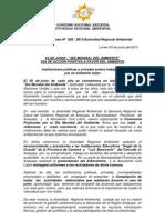 Boletin de Prensa 020 - 2013- Dia Mundial Del Ambiente