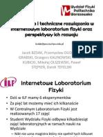 Architektura i techniczne rozwiązania w Internetowym Laboratorium Fizyki 2