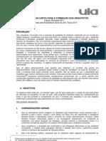 Carta Unesco Uia 2011