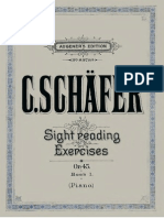 Schafer Sight Reading Exercises 1