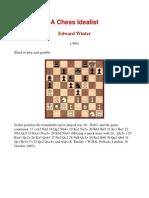 Edward Winter - A Chess Idealist