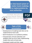 An immision data based system of particulate matter levels modeling dedicated to implementation by local authorities