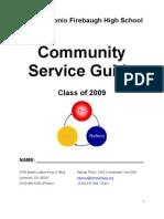 Community Service Guide Class_2009