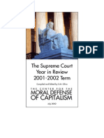 2001-2002 Supreme Court Year in Review